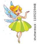 illustration of happy cartoon...   Shutterstock .eps vector #1105225448