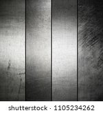silver metal banners background ... | Shutterstock . vector #1105234262