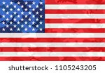 camouflage american flag.vector ... | Shutterstock .eps vector #1105243205