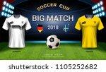 2018 world championship... | Shutterstock .eps vector #1105252682
