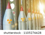 missiles are directed upwards ... | Shutterstock . vector #1105276628