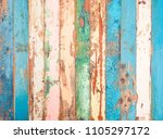 vintage wood background with...   Shutterstock . vector #1105297172