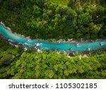 River Soca Cutting Trough...