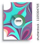 abstract colorful background...   Shutterstock .eps vector #1105304705