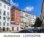 coimbra  portugal   july 10 ... | Shutterstock . vector #1105342958