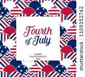 4th of july   independence day... | Shutterstock .eps vector #1105352762