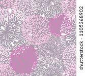 pastel colors floral  pattern.... | Shutterstock . vector #1105368902