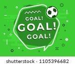 speech bubble word goal with...   Shutterstock .eps vector #1105396682