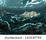stormy sea | Shutterstock . vector #110539745