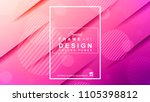 abstract geometric colorful... | Shutterstock .eps vector #1105398812