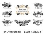 flower logo template. floral...