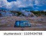 yellowstone  montana  usa may... | Shutterstock . vector #1105434788