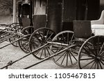 carriages in a line   Shutterstock . vector #1105467815