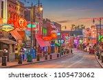 memphis  tennessee   august 25  ... | Shutterstock . vector #1105473062