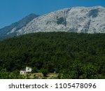 mountains near town kemer ...   Shutterstock . vector #1105478096