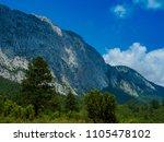 mountains near town kemer ...   Shutterstock . vector #1105478102