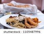 philippines style organic...   Shutterstock . vector #1105487996