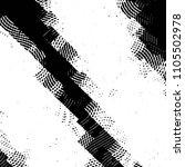abstract grunge grid stripe... | Shutterstock .eps vector #1105502978