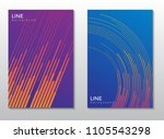 minimalist covers design.... | Shutterstock .eps vector #1105543298