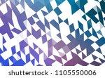 dark blue  red vector polygonal ... | Shutterstock .eps vector #1105550006