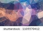 abstract background with... | Shutterstock .eps vector #1105570412
