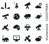 set of simple vector isolated... | Shutterstock .eps vector #1105579085