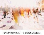 Crowd Anonymous People Walking Busy - Fine Art prints