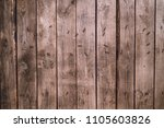 background of old wood boards ...   Shutterstock . vector #1105603826