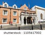 gibraltar  uk   may 18  2017 ...   Shutterstock . vector #1105617002