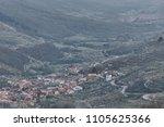 jerte valley from tornavacas... | Shutterstock . vector #1105625366