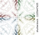 four colors abstract pattern... | Shutterstock . vector #1105647635