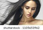 beauty portrait of young...   Shutterstock . vector #1105653962