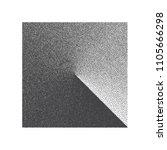 minimal vector stippled square... | Shutterstock .eps vector #1105666298