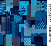 abstract seamless pattern .... | Shutterstock .eps vector #1105673288