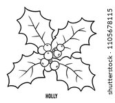 coloring book for children ... | Shutterstock .eps vector #1105678115