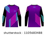 templates jersey for mountain... | Shutterstock .eps vector #1105683488