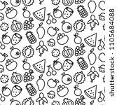 simple pattern background... | Shutterstock .eps vector #1105684088