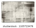 grunge faded cracked fabric... | Shutterstock . vector #1105723478