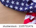 national day celebration usa... | Shutterstock . vector #1105731476