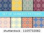 Seamless Patterns. Collection...