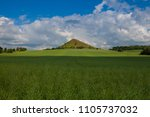 view on cicov hill in czech... | Shutterstock . vector #1105737032