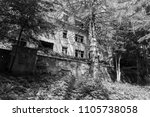 old abandoned sanatorium | Shutterstock . vector #1105738058