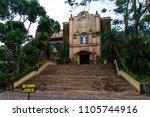 caleruega chapel at tagaytay  ... | Shutterstock . vector #1105744916