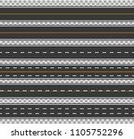 horizontal straight seamless...   Shutterstock .eps vector #1105752296