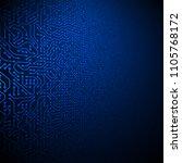 computer circuit board vector... | Shutterstock .eps vector #1105768172