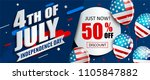 50  off sale banner with... | Shutterstock .eps vector #1105847882