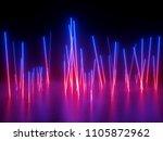 3d rendering  ultraviolet... | Shutterstock . vector #1105872962