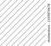 dashed lines minimal vector... | Shutterstock .eps vector #1105874678