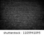 old dark brick stones wall... | Shutterstock . vector #1105941095