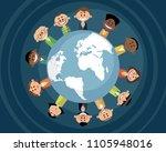vector illustration of people... | Shutterstock .eps vector #1105948016
